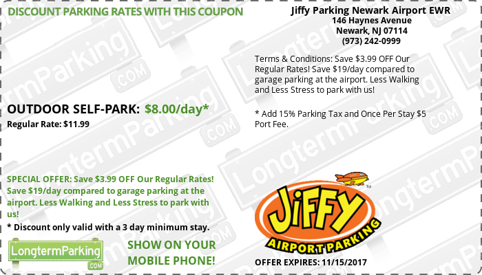 Coupons for vista parking at newark airport