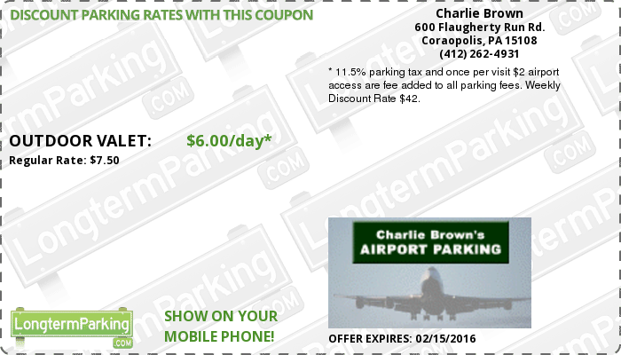Free Coupons & Free Reservations - Charlie Brown's Airport ...