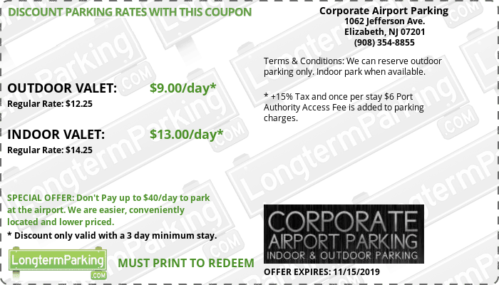 Enter this coupon code at checkout to get $5 discount on airport parking.