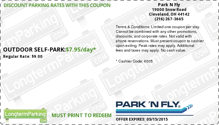Park 'N Fly is the leader in affordable offsite airport parking. We provide an easy way to save time with our alternative to parking at airport.
