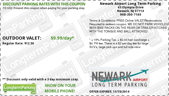 JFK Long Term Parking Promo Code. To help you find the best JFK Parking coupon codes and JFK Long Term Parking promotional codes with ease, unecdown-5l5.ga classifies a wide variety of JFK Long Term Parking coupons by tag for the sake of your conveniences. The coupon codes, promotional codes & discount codes below are tagged as JFK Long Term Parking.