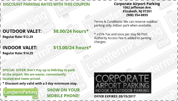 Coupons For Car Service To Newark Airport