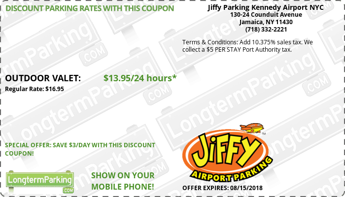 Parking discount coupons nyc